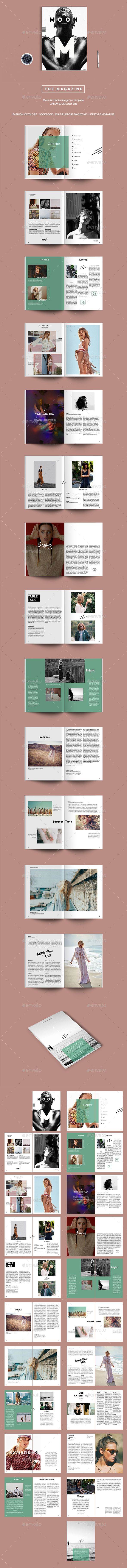 The Magazine Template InDesign INDD. Download here: https://graphicriver.net/item/the-magazine-/17520219?ref=ksioks