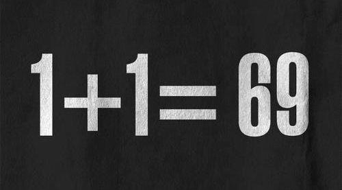 1+1=69 #maths #amour #sexe