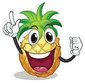 Clipart - ananas, unique pineapple-single - Recherchez des Clip Arts, des Illustrations, des Dessins et des Images Vectorisées au Format EPS - pineapple-single.EPS