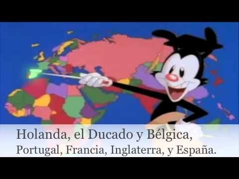 Los países del mundo (con letra) Awesome video in Spanish to help learn the countries of the world