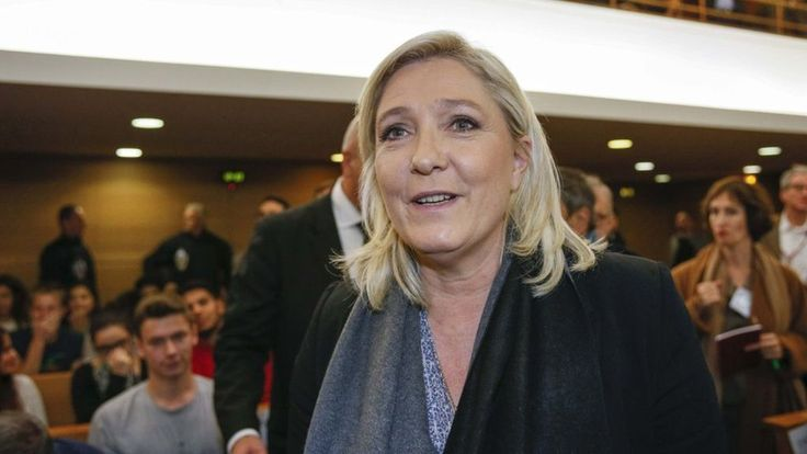 French National Front leader Marine le Pen is acquitted of charges of inciting hatred on the December 2010 campaign trail.