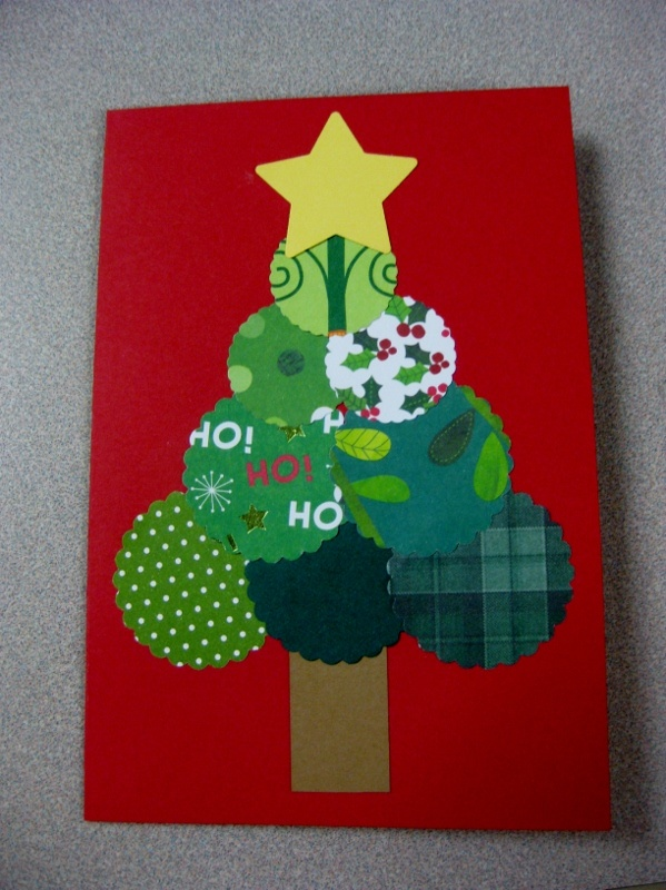 1000 images about cards by kids on pinterest christmas for Pre punched paper for crafts