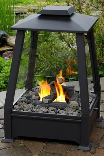 Sierra II Outdoor Fireplace - Fireplaces - Firepits And Heaters - Outdoor Accessories - Outdoor | HomeDecorators.com. Awesome. Http://pinterest.com/GeriMartin