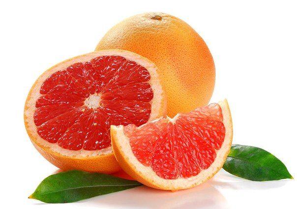 Грейпфрут и кожа.
