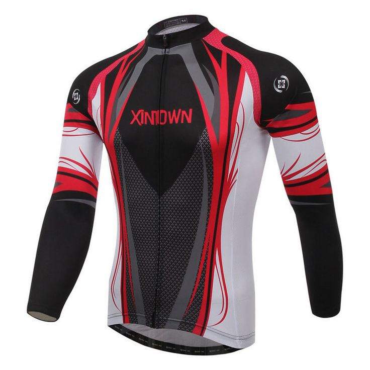 Xintown Racing Mens Cycling Jersey Bike Team Cycling Clothing Long Sleeve Bicycle  Jersey Clothing ropa invierno ciclismo hombre