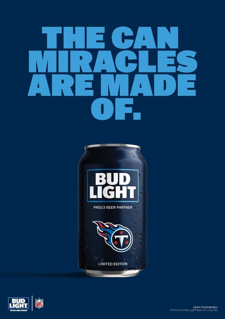 How do you celebrate a miracle? In Tennessee, the Titans and fans do it with a cold drink and some team spirit.