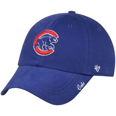 Chicago Cubs '47 Women's Crawling Bear Miata Clean Up Adjustable Hat - Royal