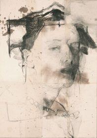 Domenico Grenci. anarada2,5,6 70x100cm bitumen and charcoal on paper 2011 70x100cm bitumen and charcoal on paper 2011