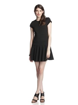 62% OFF Torn by Ronny Kobo Women's Gina Short Sleeve Dress (Black)