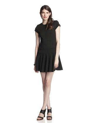62% OFF Torn by Ronny Kobo Women's Gina Short Sleeve Dress (Black)
