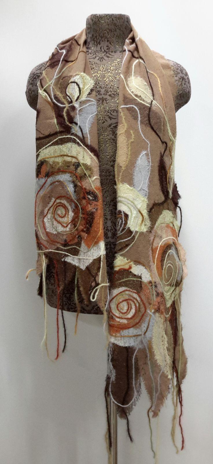 Yaga handmade chiffon scarf. #handmadescarf