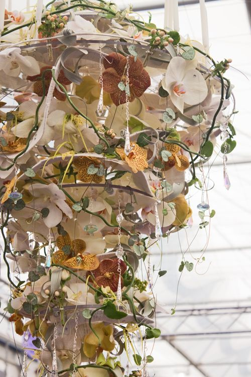 RHS Chelsea Flower Show 2012 Floral Chandelier Victoria Richards