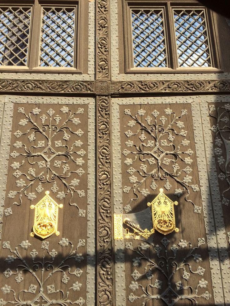 Door from the town hall, Frankfurt