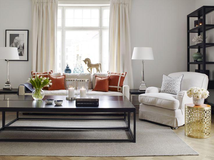 Frisk og elegant stue!