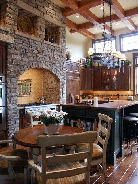 Best 25 eldorado stone ideas on pinterest rock for Eldorado stone kitchen