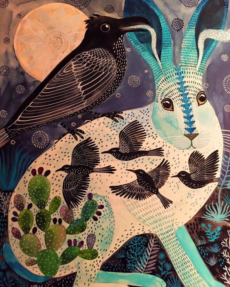 """Geninne's Art The Secret, watercolor on aquabord 11x14"""" • El Secreto, acuarela sobre aquabord 28x36cms"""