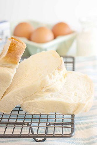 køkken69: Hokkaido Milk Loaf (Hokkaido Milk Bread) - My First Bread Loaf....