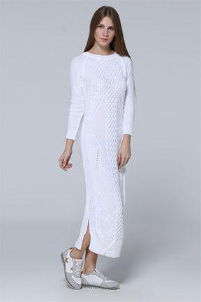Women Tricot Dresses - tozlu.com/en/