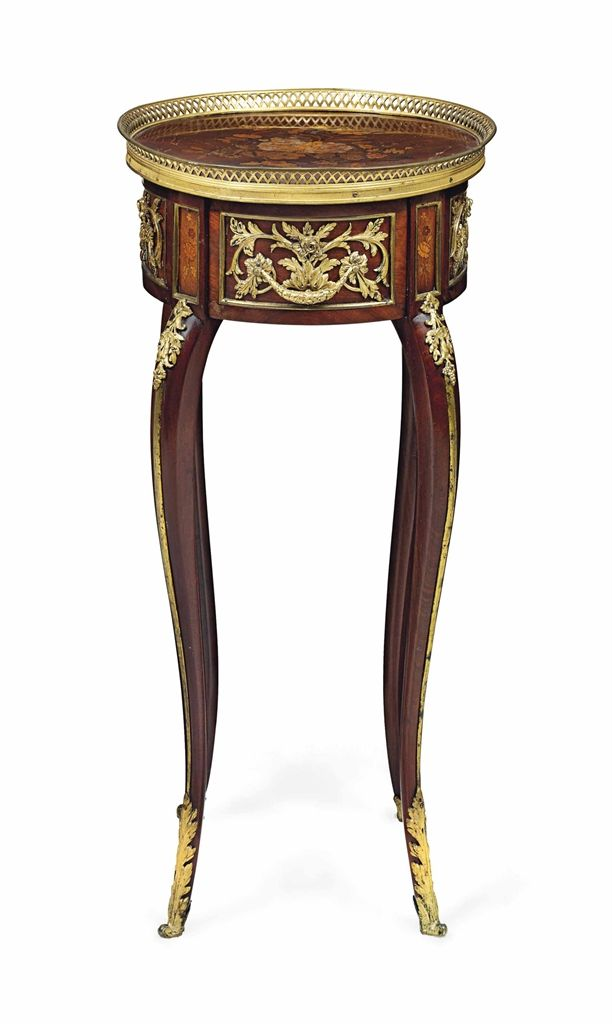 A FRENCH ORMOLU MOUNTED MAHOGANY AND FRUITWOOD MARQUETRY SIDE TABLE OF  LOUIS XV STYLE    French FurnitureVictorian FurnitureAntique. 2397 best Antiques images on Pinterest   Antique furniture