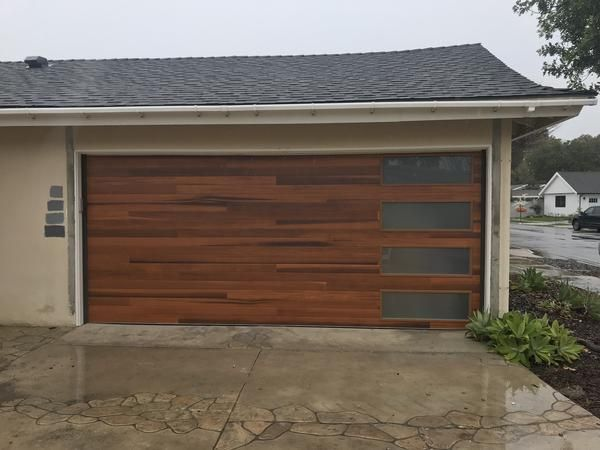 Cleo Horizontal Grooves And Texture Steel Garage Door Modern Design Garage Doors Garage Door Styles Garage Door Design