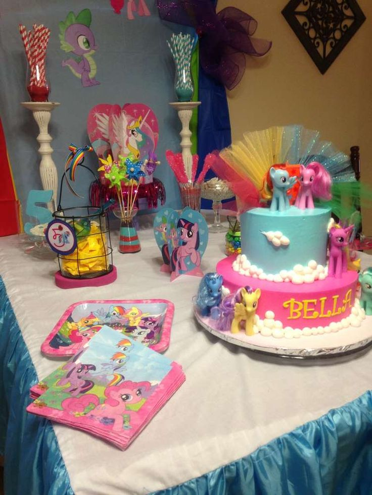 Little Pony Birthday Party Ideas | Too cool for kids