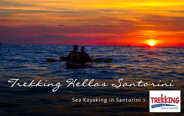 Trekking Hellas Santorini. Sea Kayaking in Santorini. #seakayaking #santorini #dreamingreece #sport #vacation #kayak #greece #greekislands #travel #travelguide