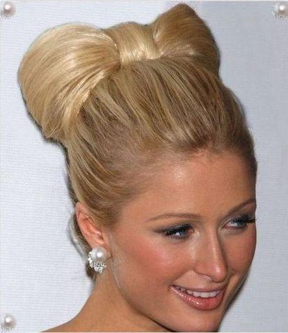 Fabulous 1000 Images About Bun Hairstyles On Pinterest Sarah Hyland Short Hairstyles Gunalazisus