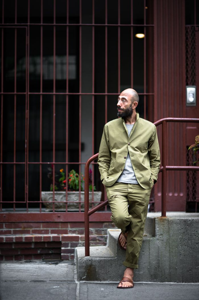 An Unknown Quantity | New York Fashion Street Style Blog by Wataru Bob Shimosato | ニューヨークストリートスナップ: #495 Alexandre Guarneri on West 12th Street, Meatpacking District, New York.