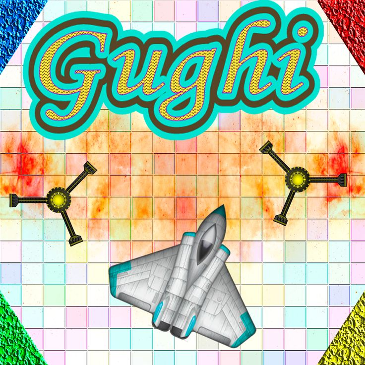 Gughi is a simple game, try to avoid the projectiles and ships, to make many points and to pass many levels.