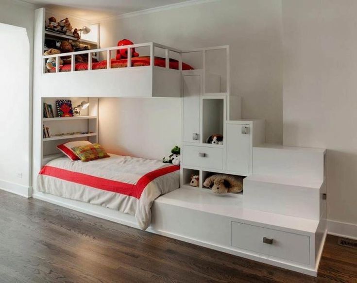 Одна детская комната для нескольких детей — 29 ярких дизайнерских решений - Ярмарка Мастеров - ручная работа, handmade