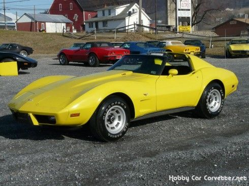 1977 yellow corvette l82 4spd numbers matching l82 350 very rare close ratio 4spd 20 000. Black Bedroom Furniture Sets. Home Design Ideas