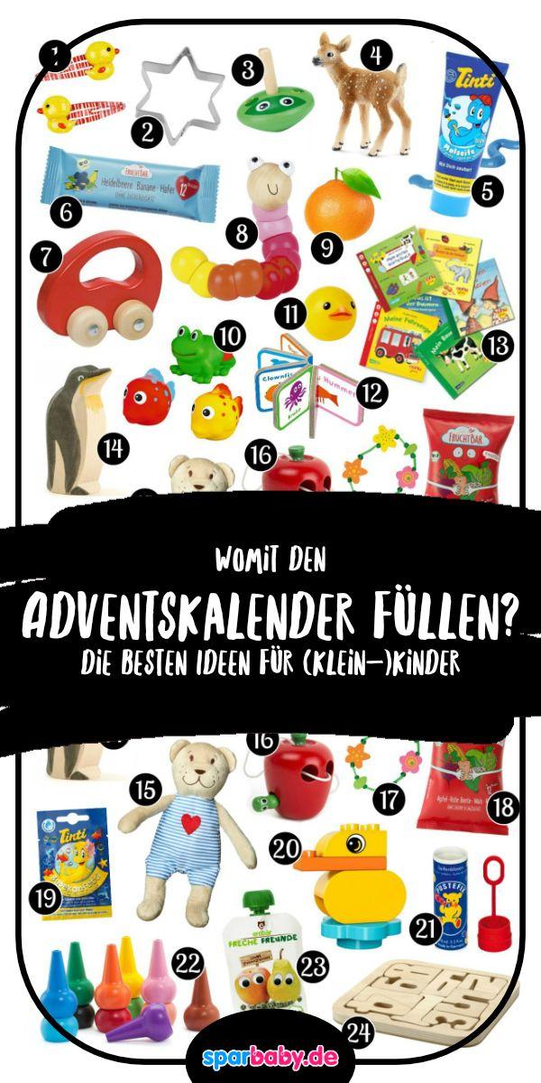 DIY Adventskalender für Babys und Kleinkinder selber