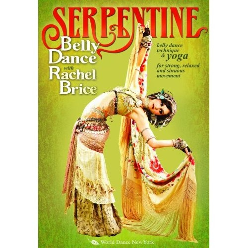 Amazon.com: Serpentine Belly Dance with Rachel Brice (TWO-DVD SET): Tribal fusion bellydance how-to, belly dancing classes with yoga: Rachel Brice: Movies & TV