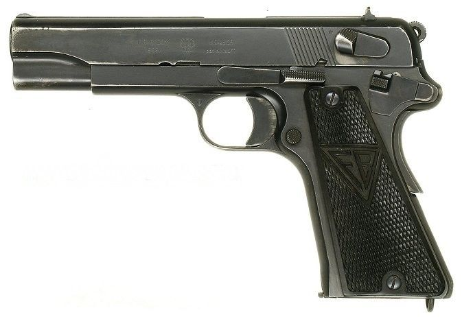Vis pistol was adopted in 1935 as the standard handgun of the Polish Army - http://www.warhistoryonline.com/war-articles/vis-pistol-adopted-1935-standard-handgun-polish-army.html