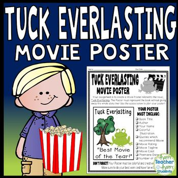 Tuck Everlasting Project: Make a Movie Poster! (Tuck Everl