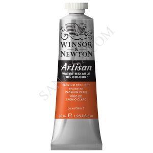 Winsor & Newton Artisan Su ile Karışabilen Yağlı Boya 100 Cadmium Red Light