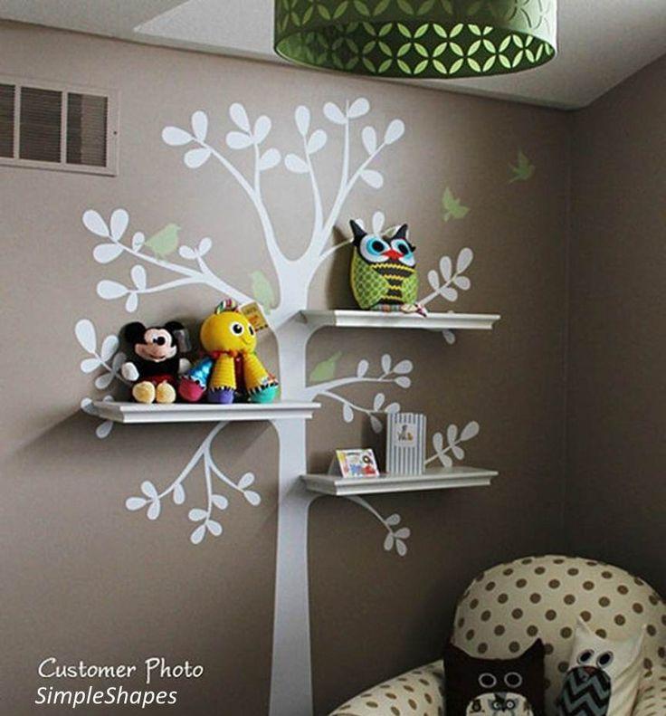 Idées déco chambre enfant - Etagère arbre