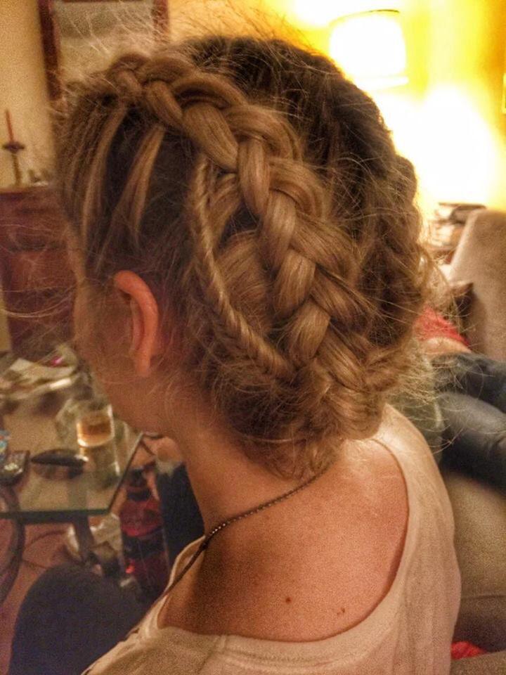 #braids#blonde#fishtale#underbraid