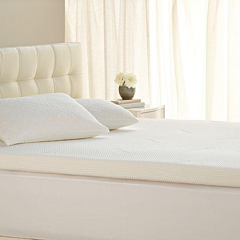 tempurpedic supreme 3inch queen mattress topper bas bath