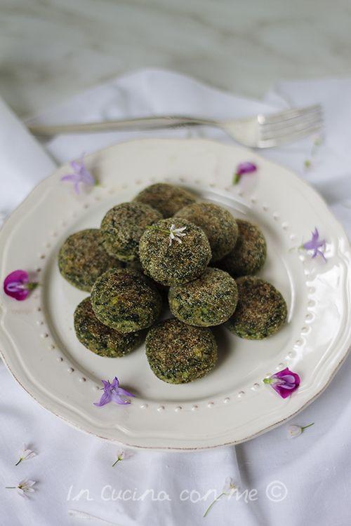 Deliziose crocchette di ricotta, bietole e spinaci