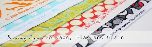 Sewing Tips: What is Selvage, Bias and Grain?   Make It and Love It
