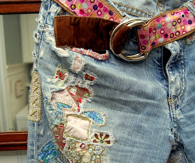 HUH! Now you don't have to toss your favorite jeans just cuz you've literally worn them out.
