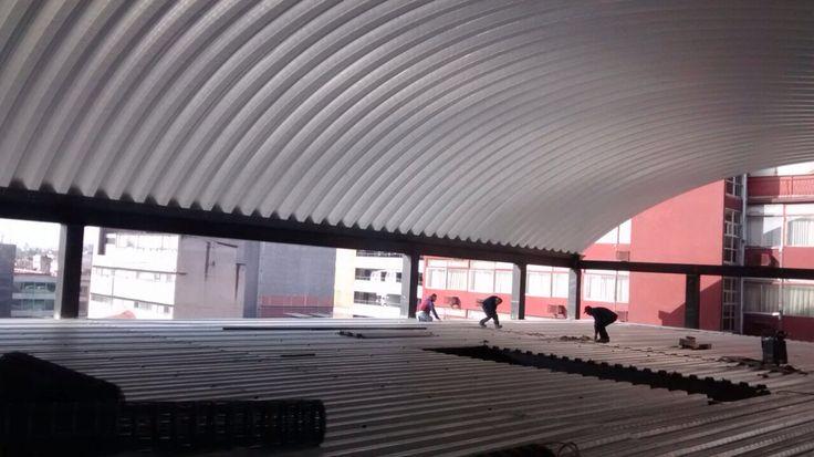 Cubiertas de calidad techos autoportantes techos y - Cubiertas para techos ...
