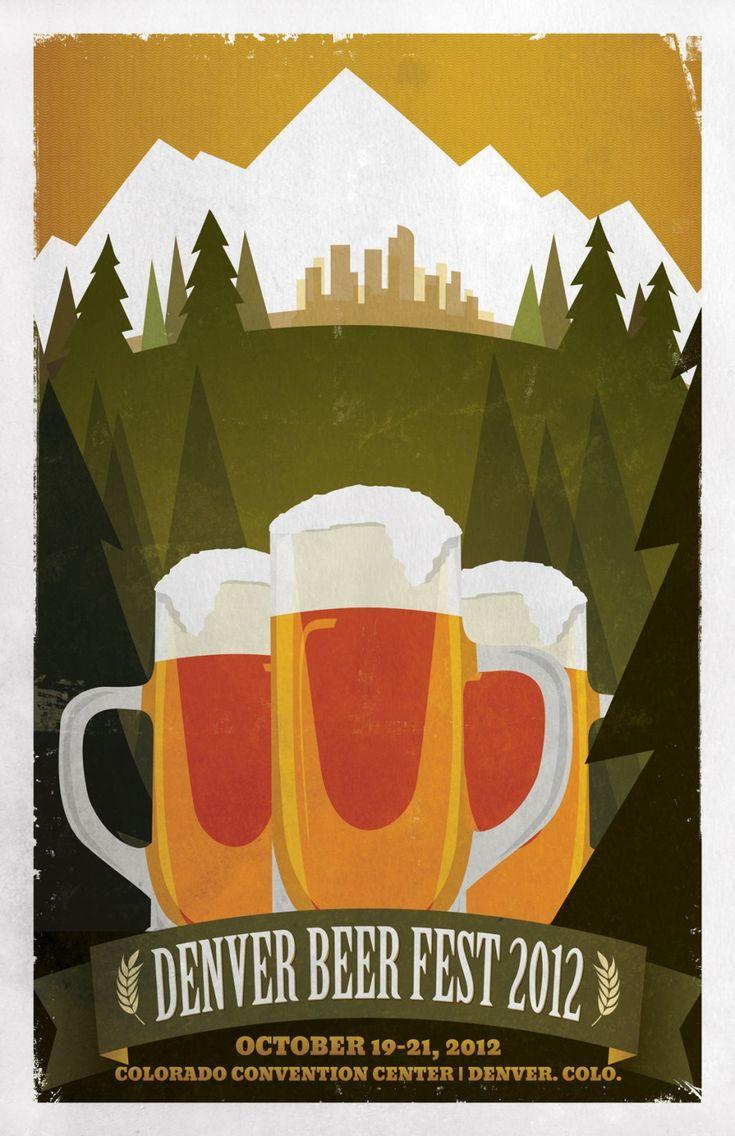 Concept poster design: Denver Beer Fest