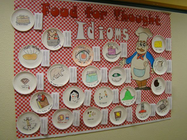Idiom Bulletin Board / Food for Thought
