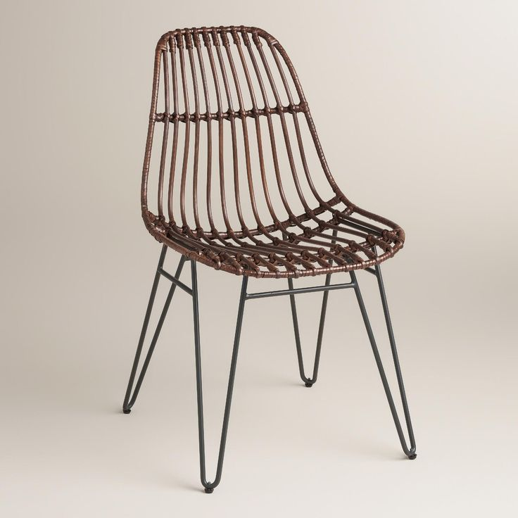Rattan Flynn Hairpin Dining Chair Google Search Dining