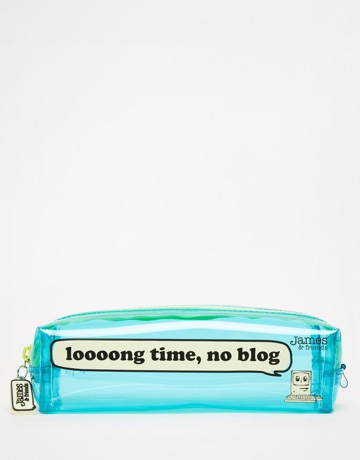 James & Friends Small Pencil Case