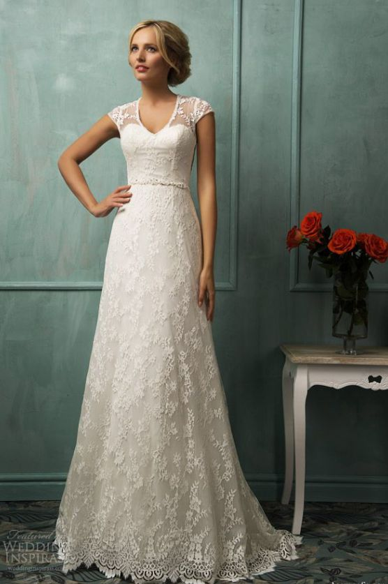 Bridal Trends: Capped Sleeves