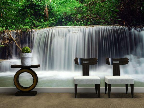 Fotomurales waterfall of thailand