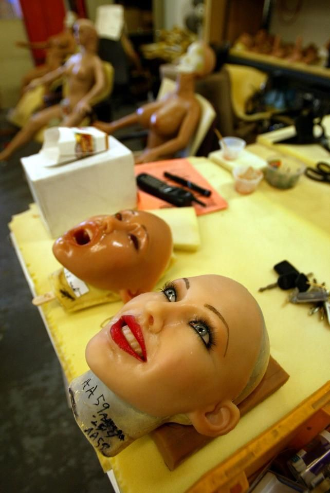 There are more and more companies creating lifelike sex dolls, taking after Matt McMullen's creations